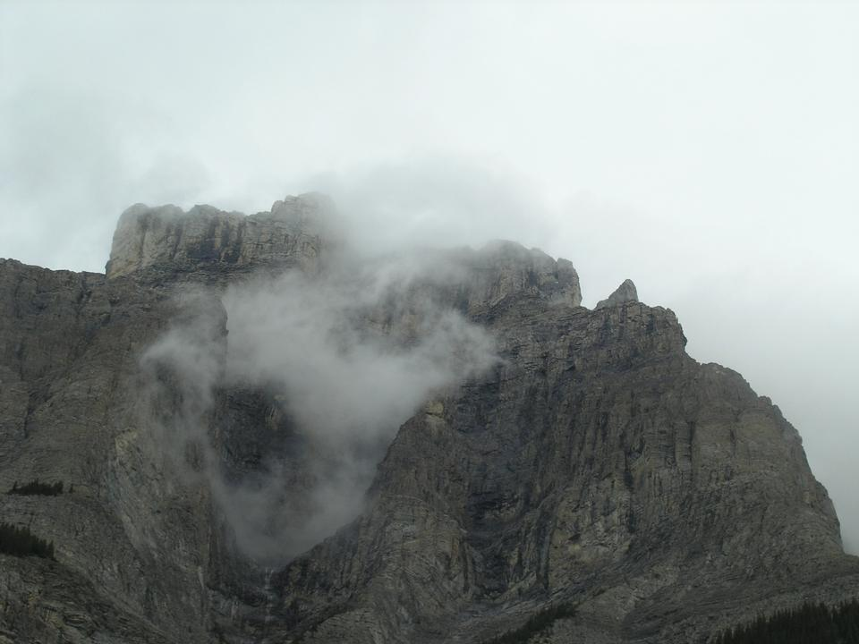 冰川国家公园,加拿大落基山脉