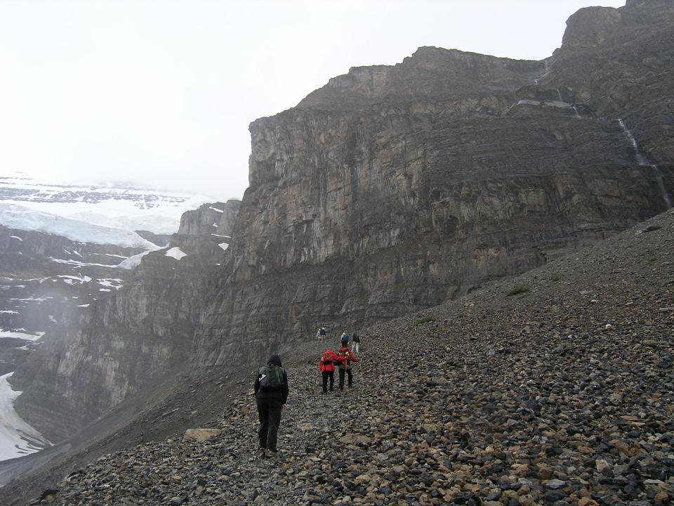 Spectacular Day Hiking Plain of 6 Glaciers, Canadian Rockies