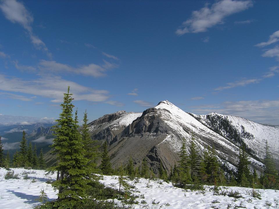 硫磺山,加拿大落基山脈