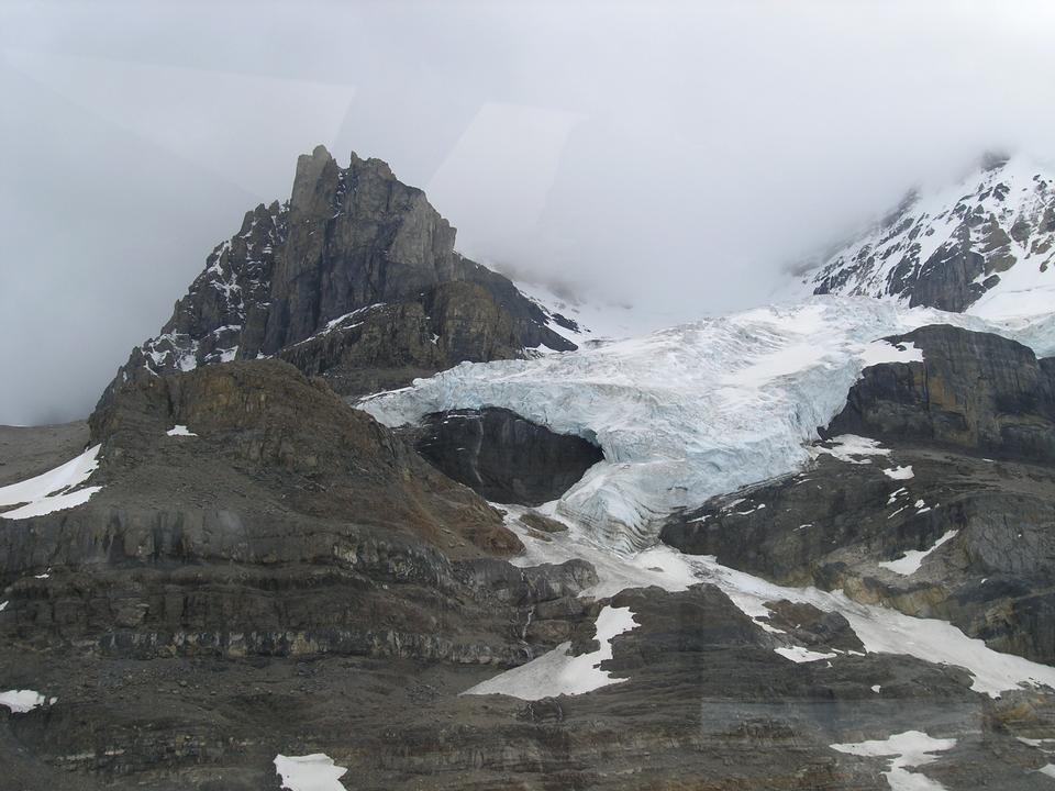 Athabasca Glaciar Nieve viaje de Banff