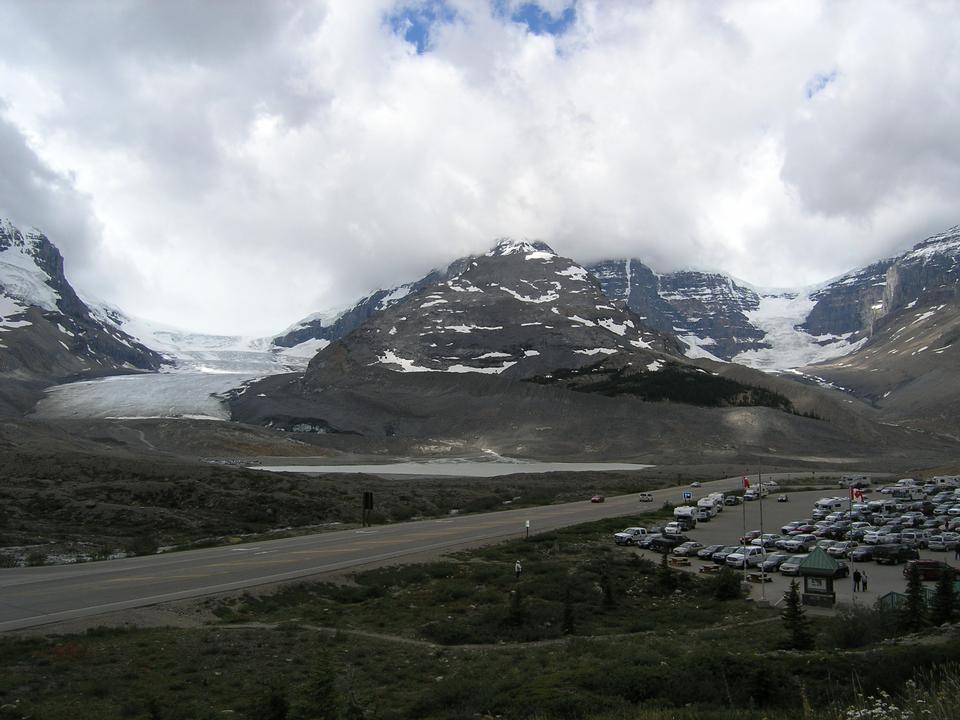Athabasca Glacier - Parc national de Jasper