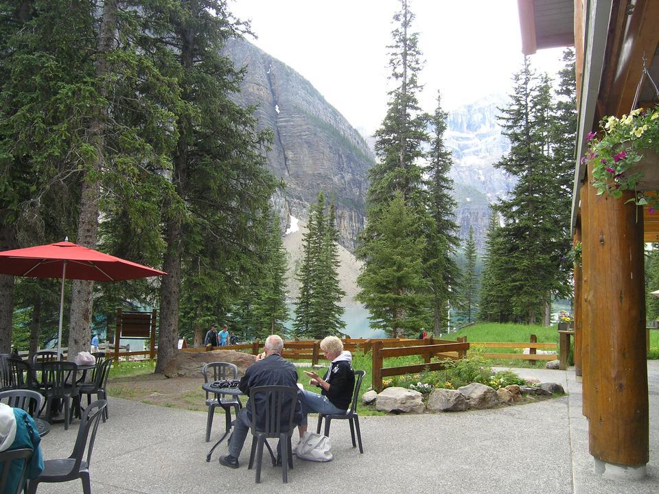 De Simpson Num-Ti-Jah Lodge - Lake Louise