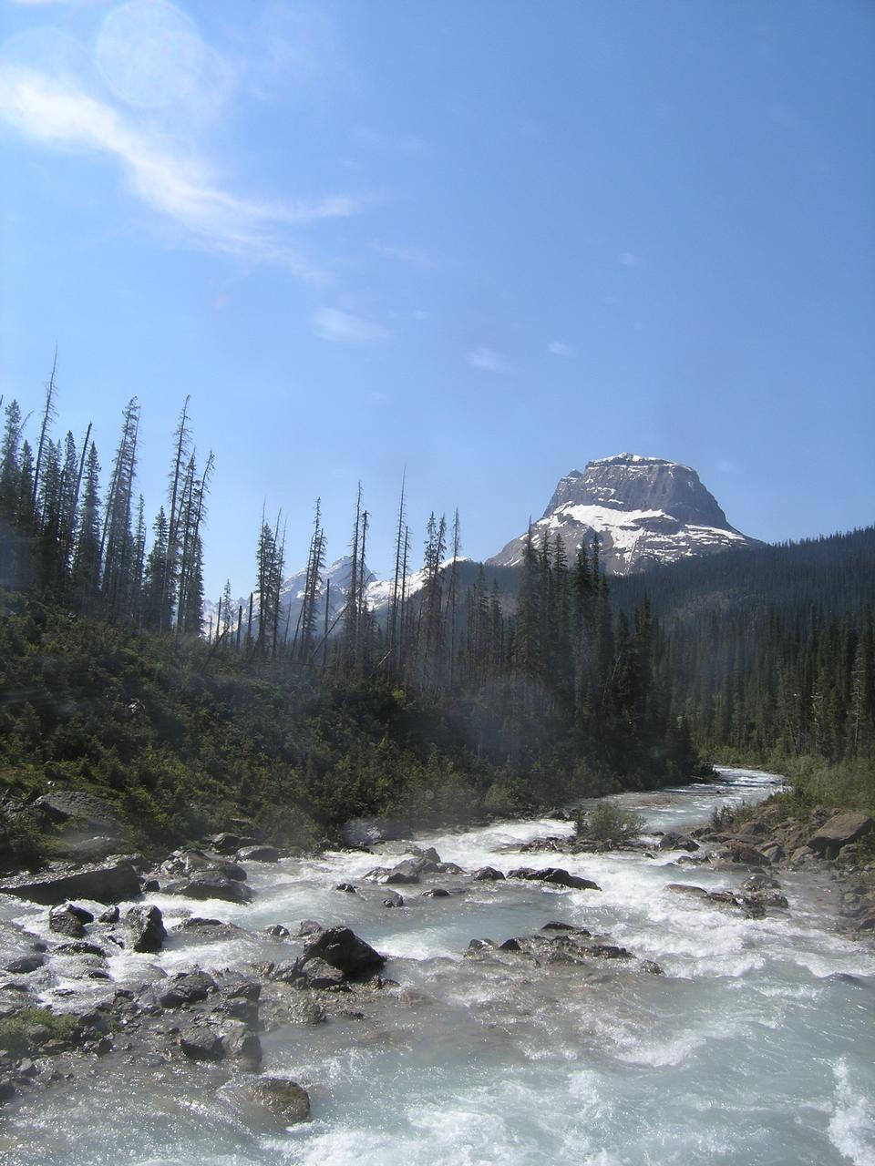 ヨーホー国立公園の観光名所