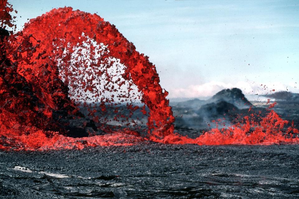 ハワイ火山噴火