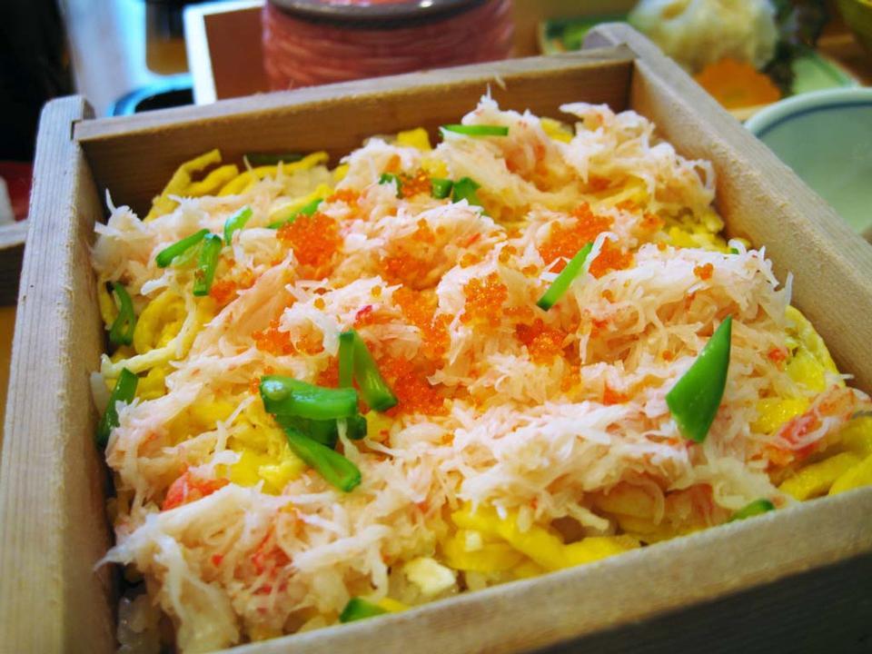 The Crab Chirashi - Japanese Food