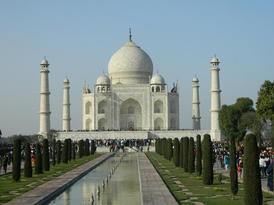 India Taj Mahal Agra Temple