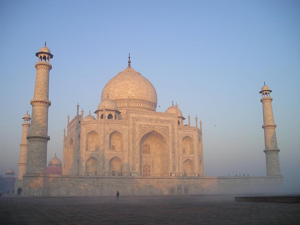 Temple Inde Taj Mahal d'Agra