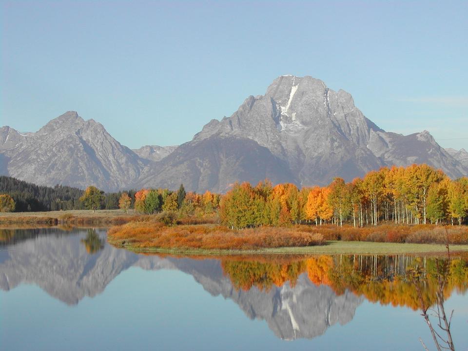 Grand Teton National Park Wyoming Lake