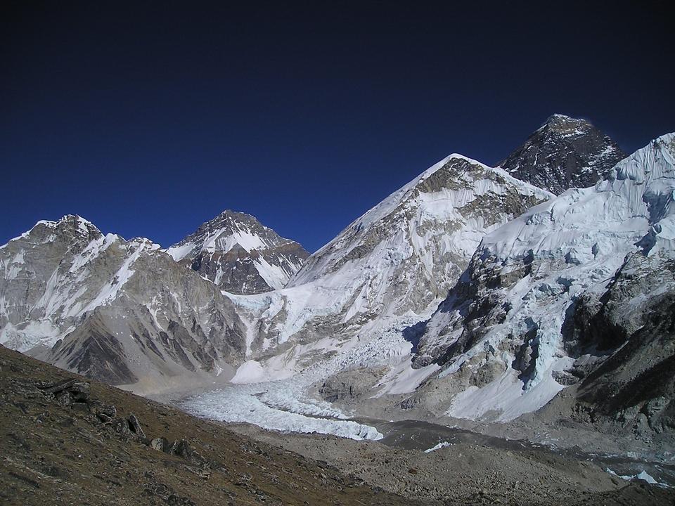 ヒマラヤ山脈アマDablamネパールエベレストトレッキング