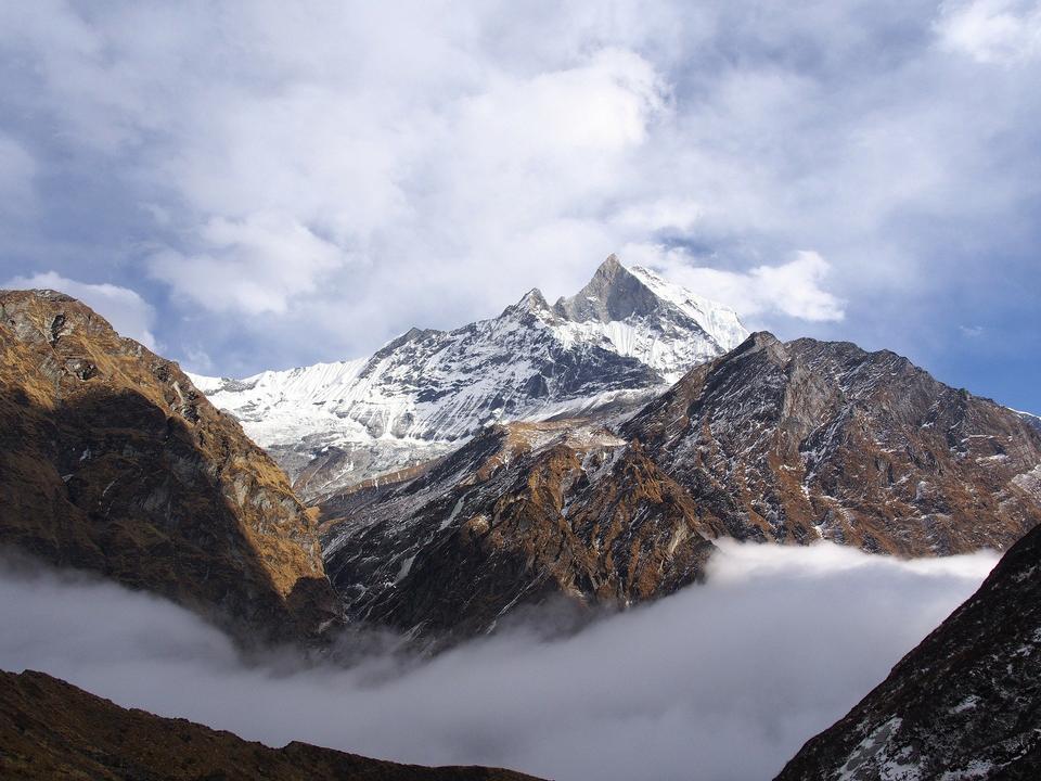 Непал Гималаи Эверест горы