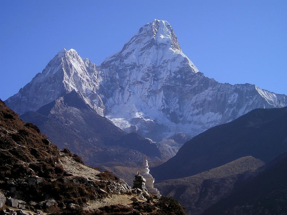 Nepal Himalaias Monte Everest Mountains