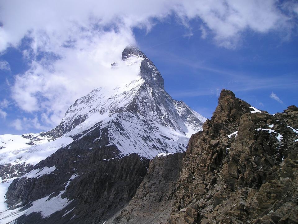 マッターホルンツェルマット山地アルパイン