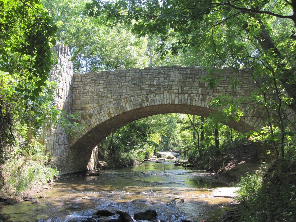 展望上游林肯桥
