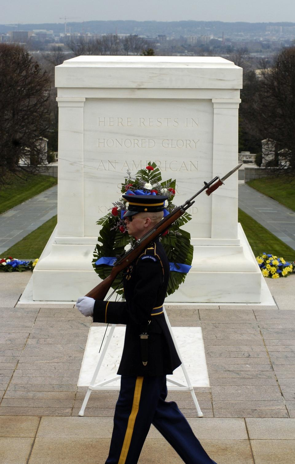 Arlington National Cemetery Soldier