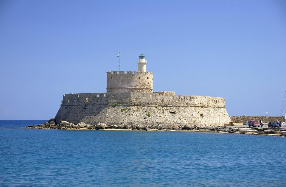 the fort Saint Nicolas and lighthouse