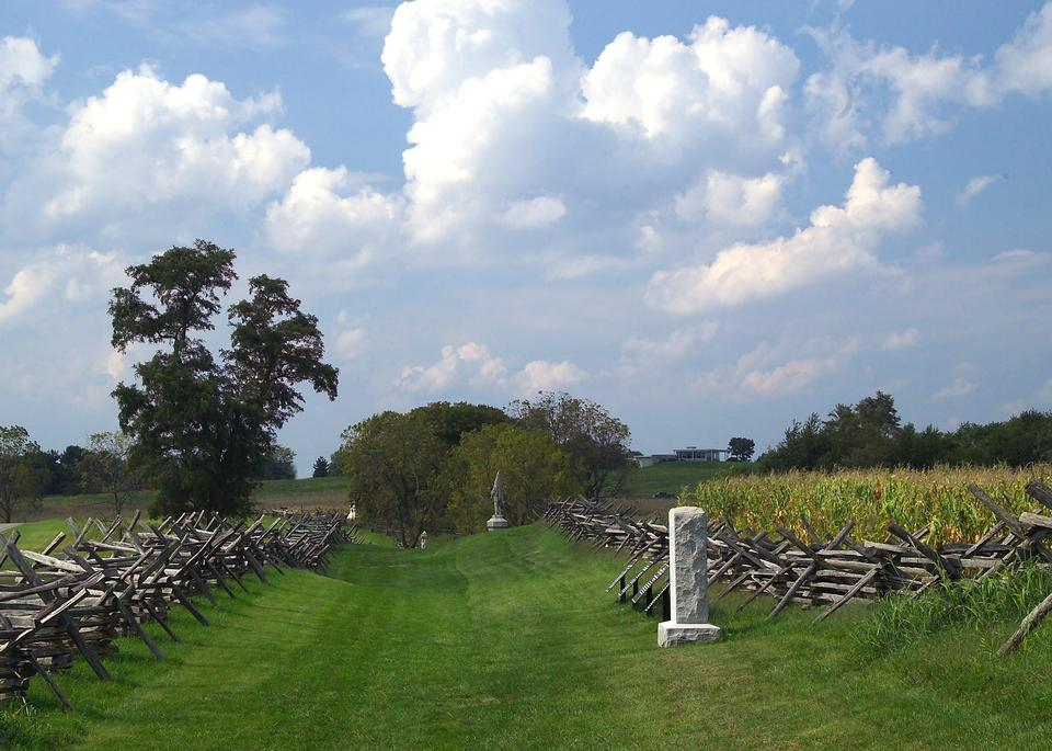 Sunken Road, Bloody Lane at Antietam