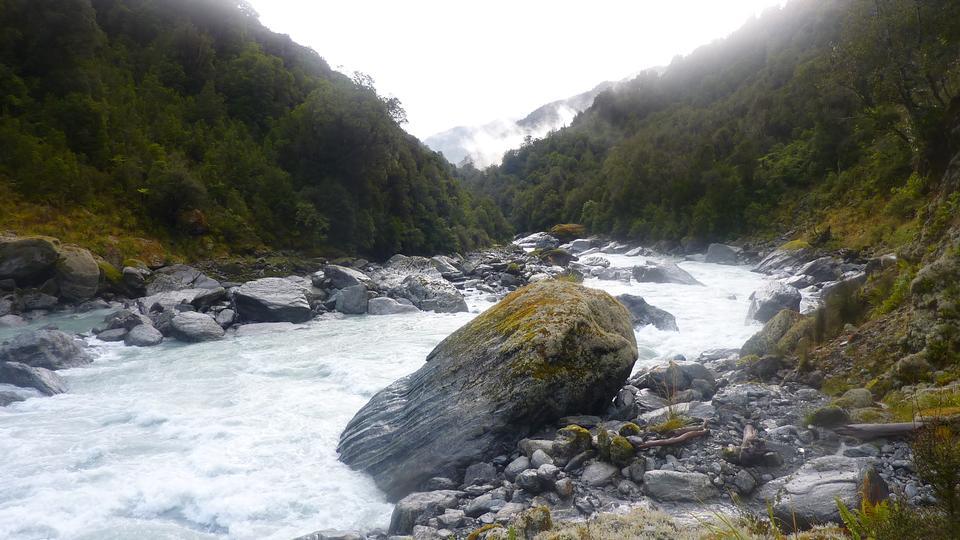 ホイットコム川ニュージーランド