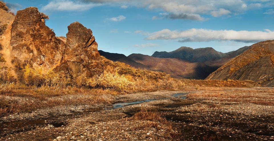 イースト·フォーク·リバー、ポリクローム山脈