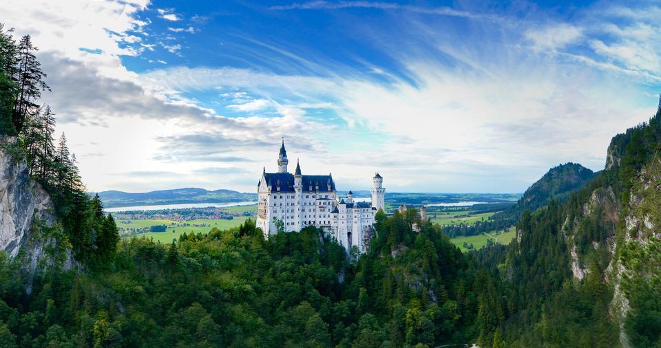 新天鹅城堡在德国