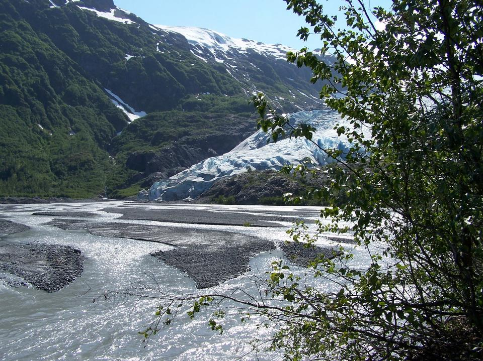 出口氷河キーナイ·フィヨルド国立公園