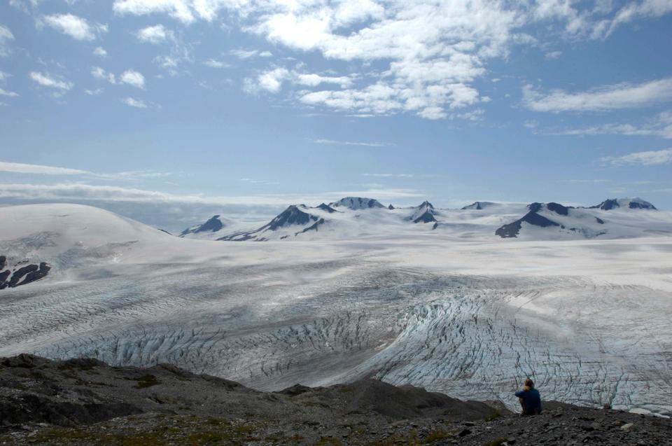 哈丁冰原步道