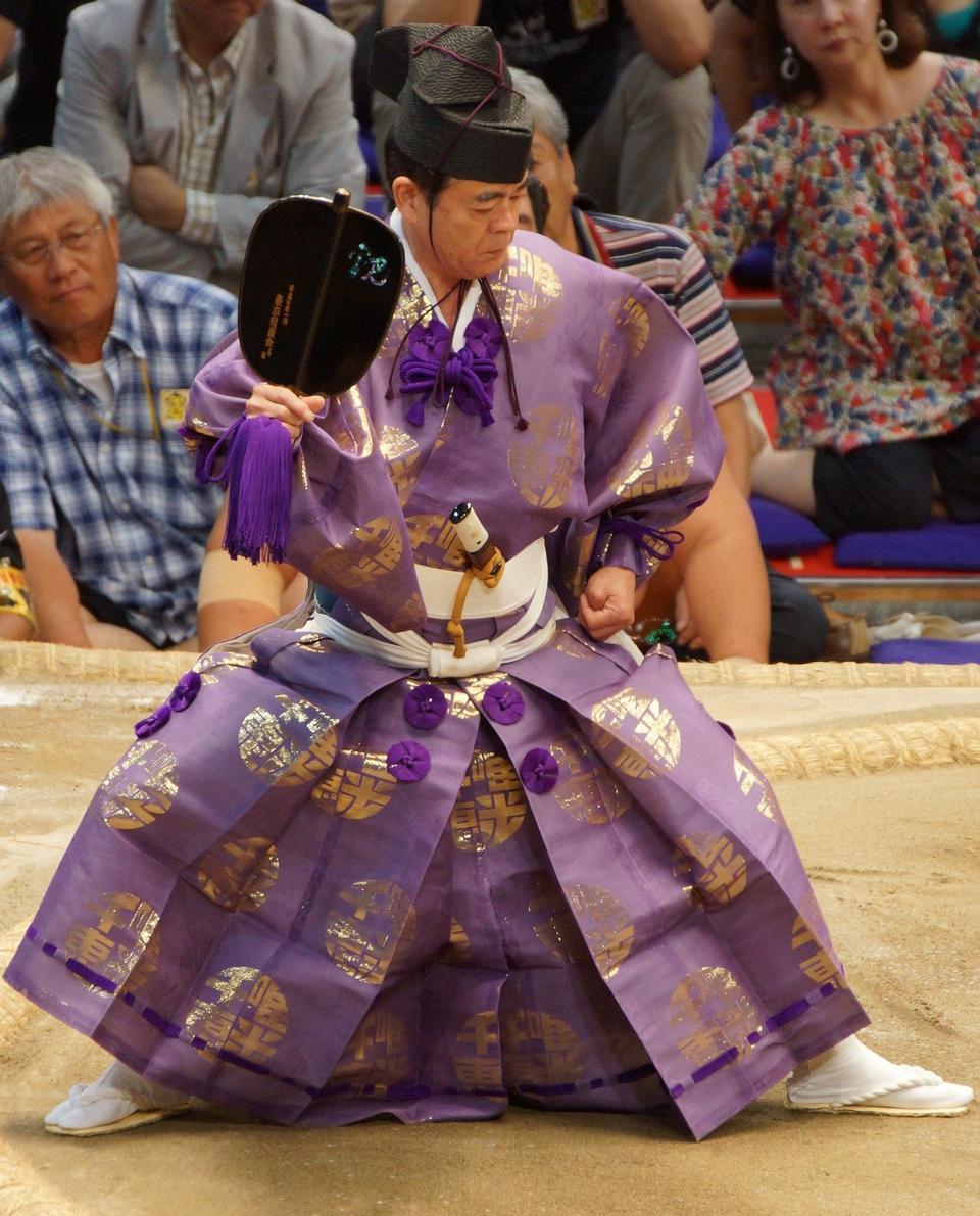 Japan Sumo Referee