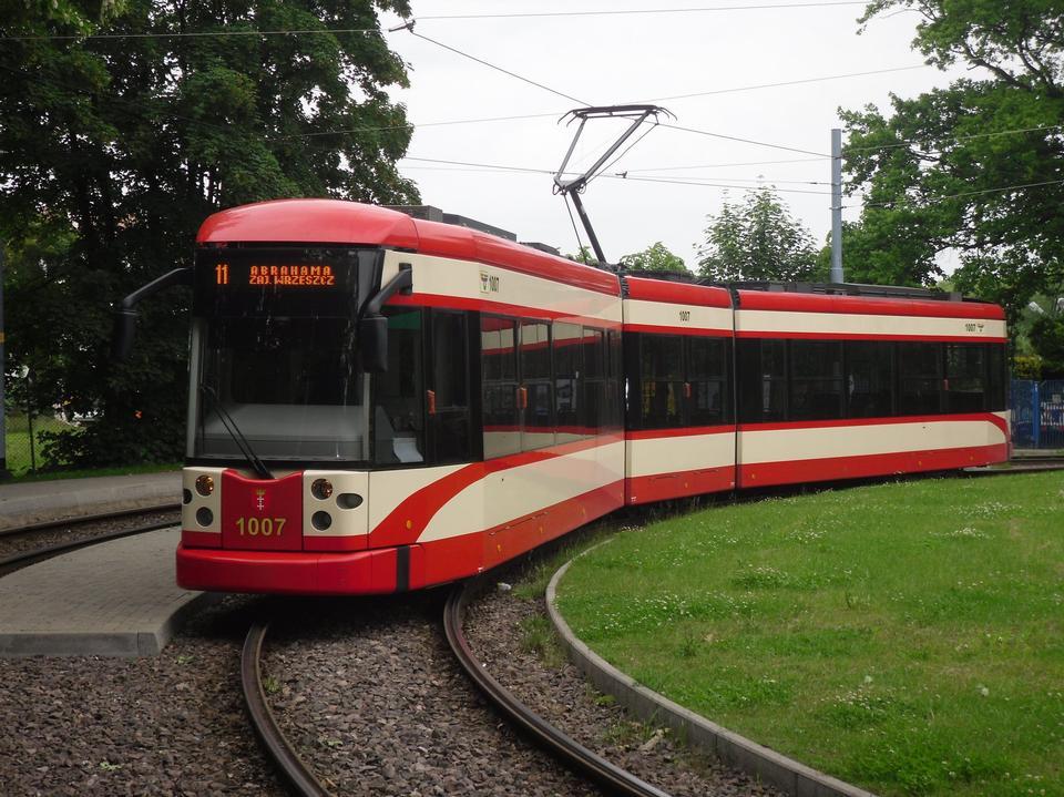 格但斯克有軌電車 - 龐巴迪