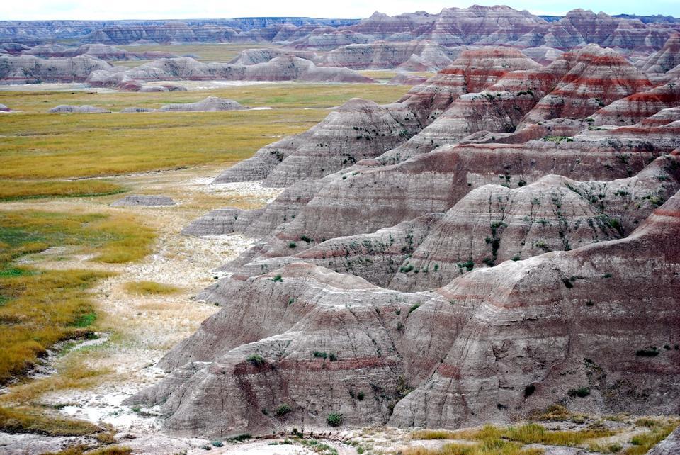 恶地国家公园在南达科他州
