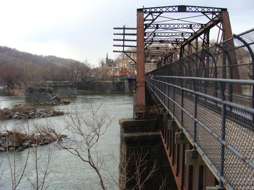 Bridge leading from Maryland into Harpers Ferry, WV