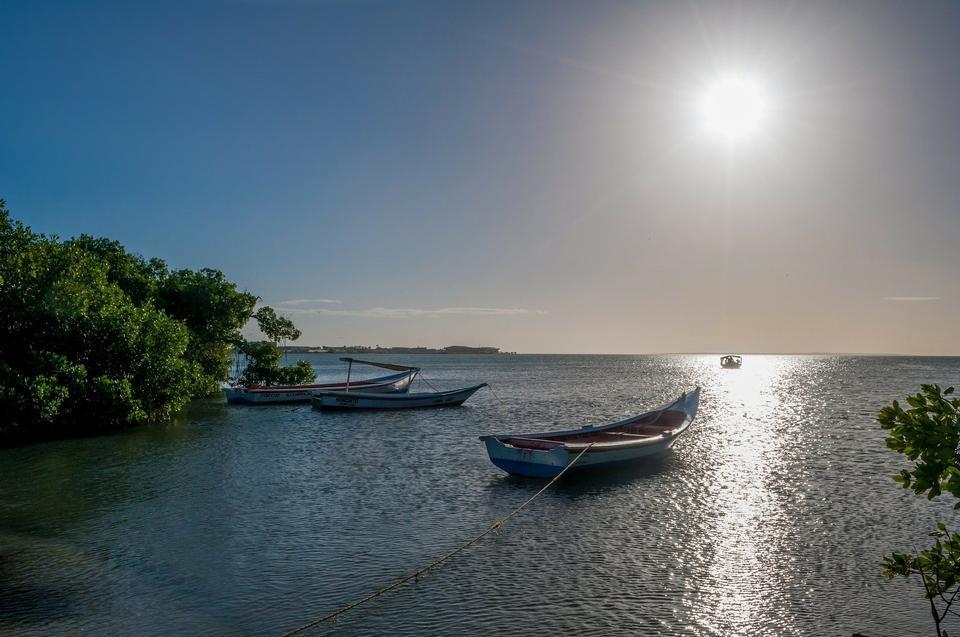 ベネズエラの美しい夕日