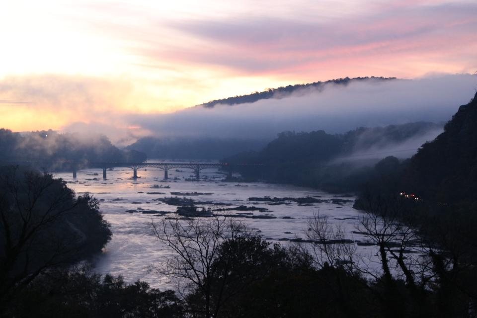 Sunrise Harpers Ferry National Historical Park