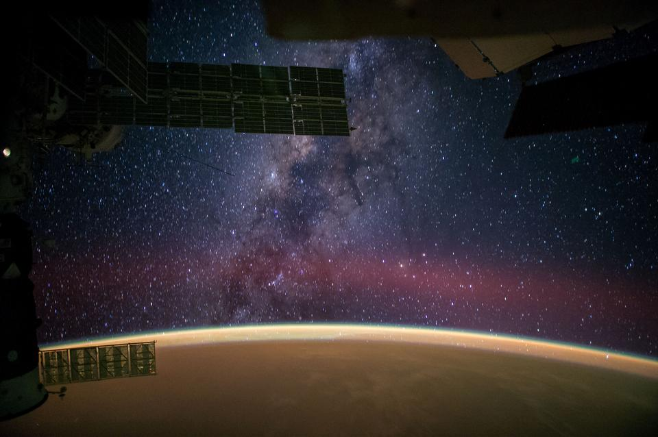 Milky Way Viewed From the International Space Station