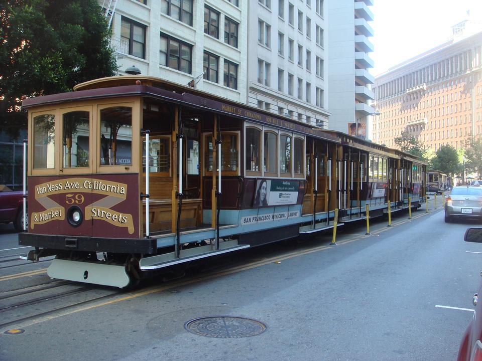 最古老的机械公共交通在旧金山