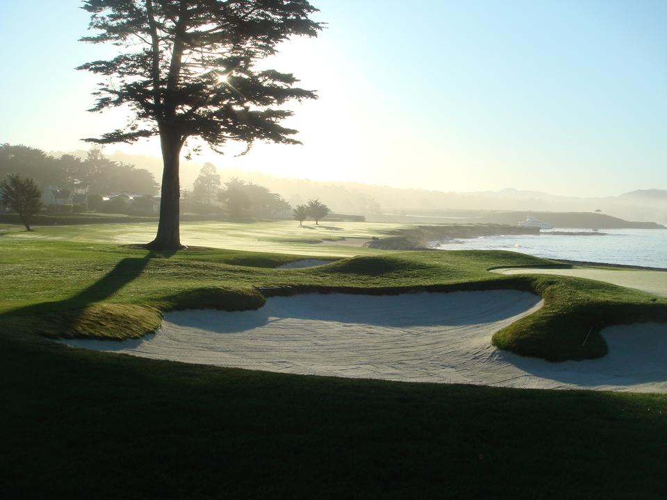 Putting Green en Pebble Beach Golf Course