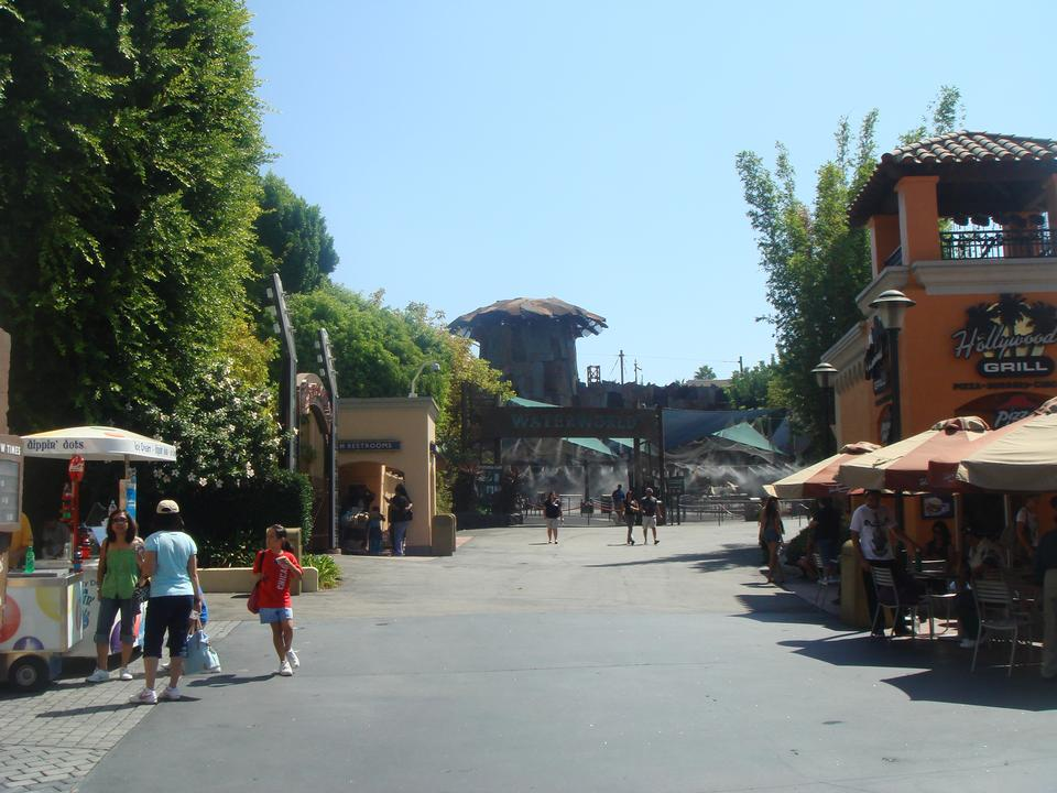 The Universal Studios in Hollywood