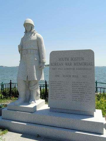 Download grátis imagem de alta resolução - South Boston Korean War Memorial