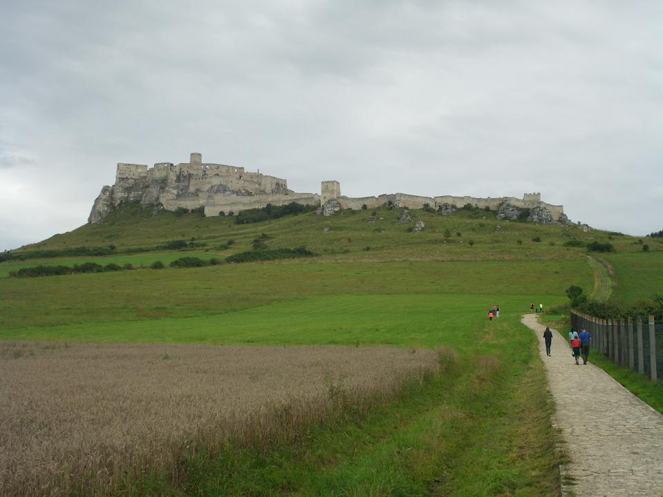 该斯皮什城堡 -  Spissky hrad全国文化纪念碑