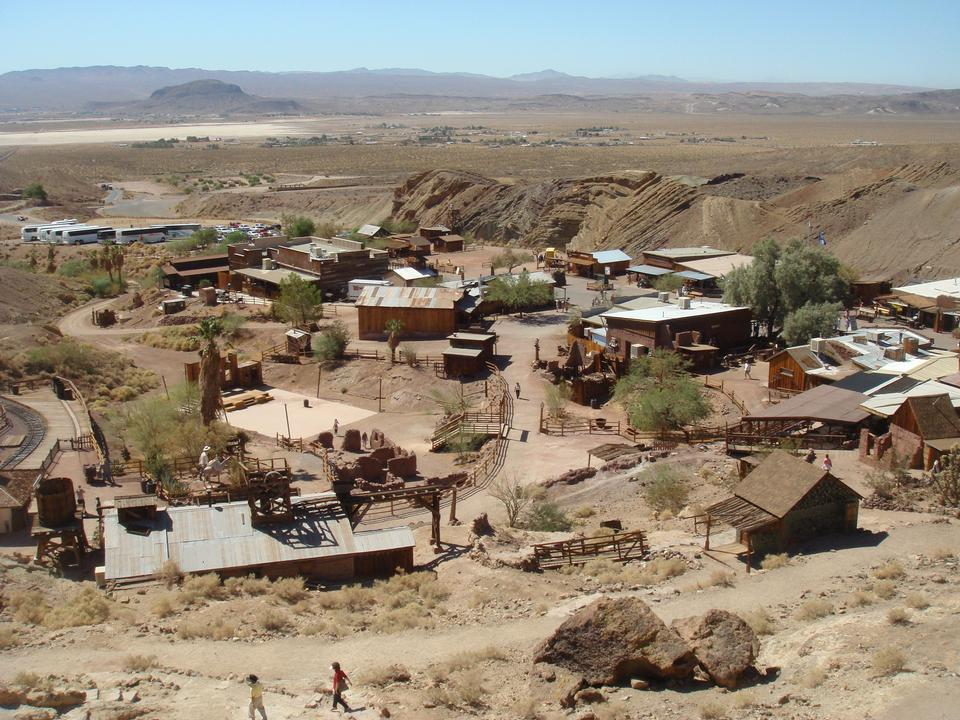 Abandoned gold processing plant, Bodie, Ghost Town, California
