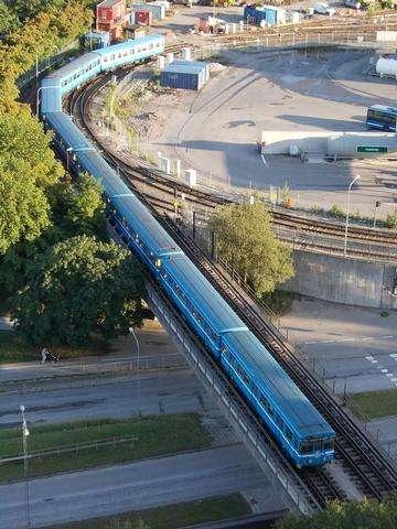 Descarga gratis la imagen de alta resolución - Estocolmo Azul del Metro
