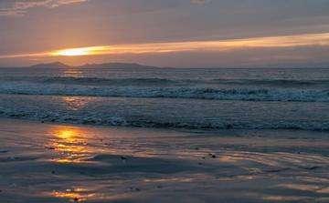 Download grátis imagem de alta resolução - Pôr do sol em La Guardia baía, Ilha Margarita Venezuela