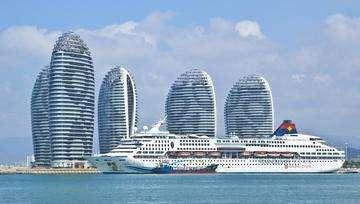 Download grátis imagem de alta resolução - Star Cruises luxo forro Superstar Aquarius