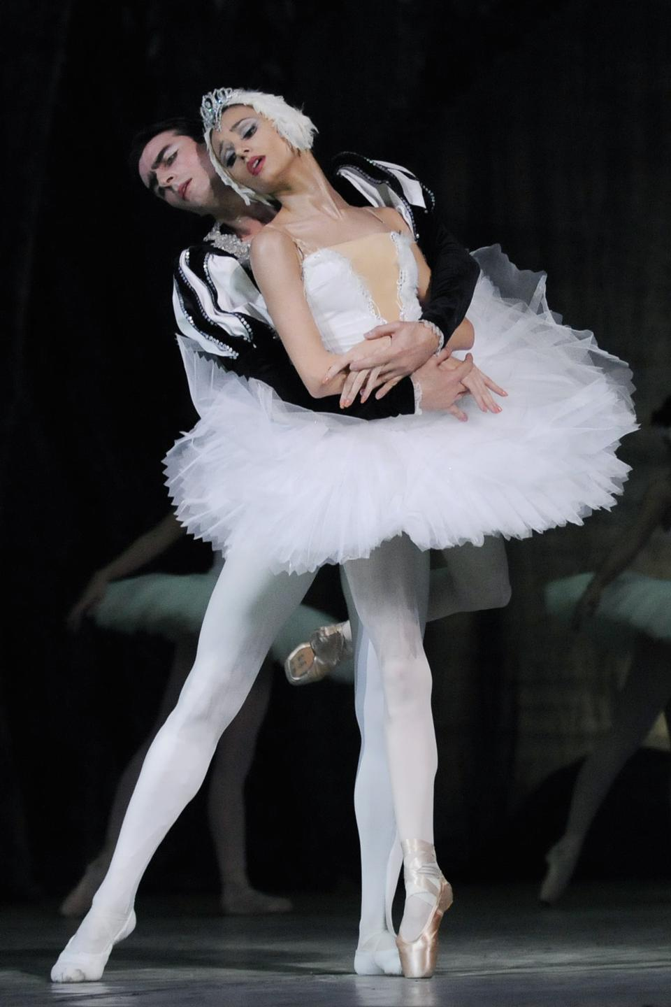 a performance of Swan Lake