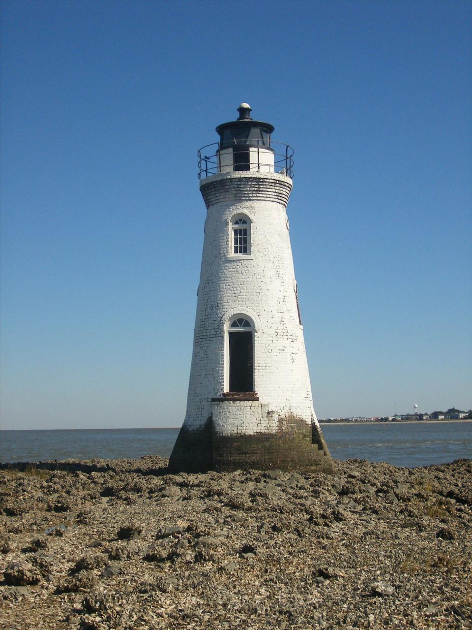 Cockspur島の灯台
