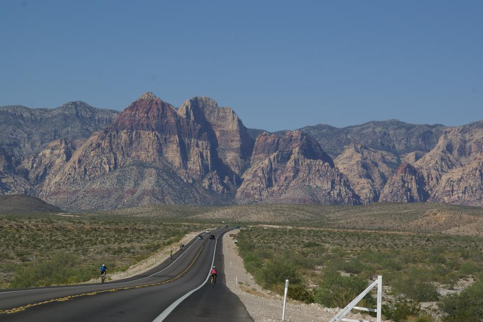 Red Rock Canyon from the Las Vegas