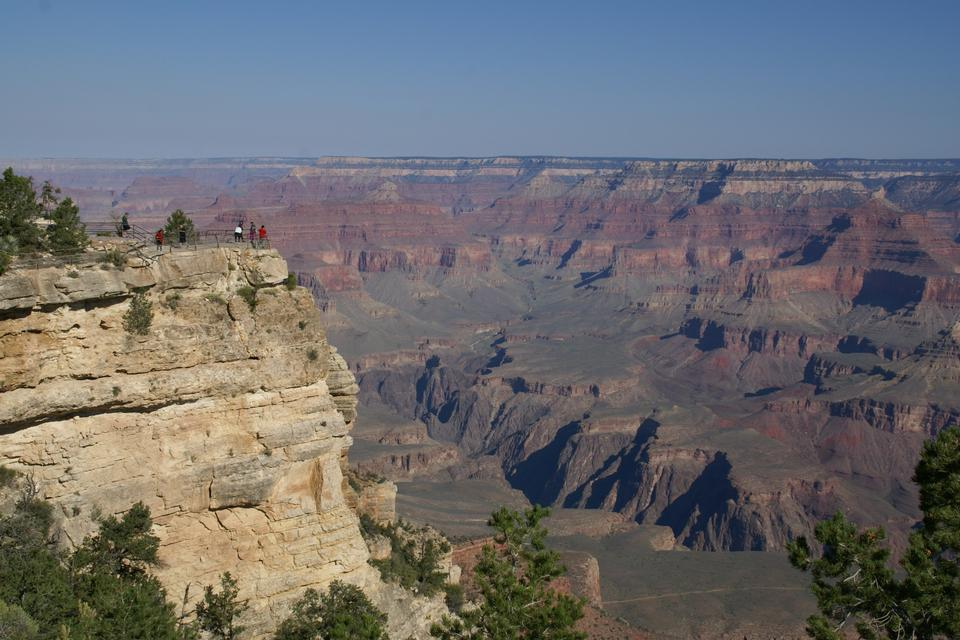 View from Mather Point, Grand Canyon, Arizona