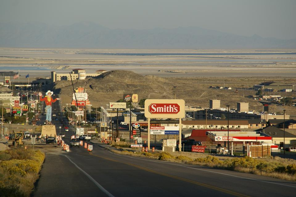 Wendover Boulevard in West Wendover, Nevada