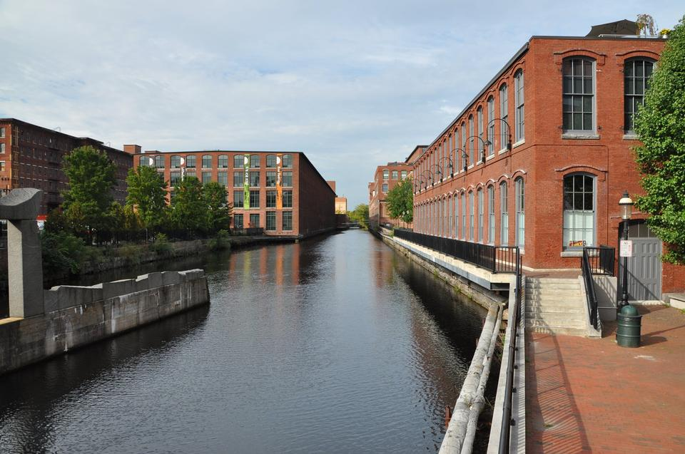 Industrial Canal on the Pawtucket Canal