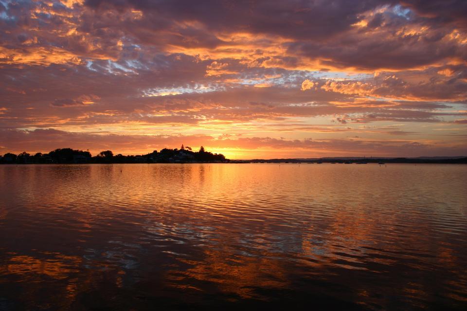 Beautiful Sunset  Lake Macquarie