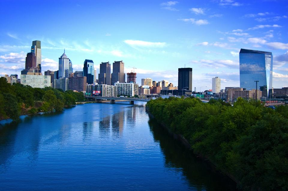 Philadelphia City en Pennsylvanie