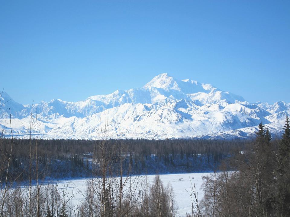 マッキンリー山アラスカ州